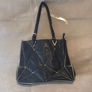 Adorable geometric tote-make offer